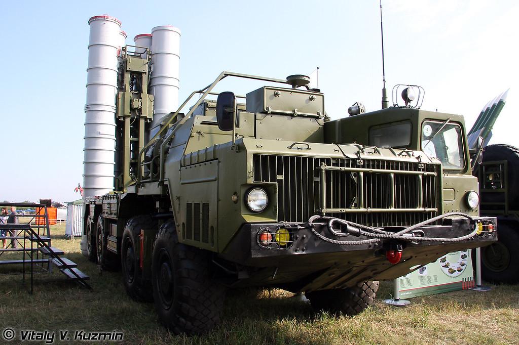 ПУ 5П85СЕ2 ЗРС С-300 ПМУ-2 Фаворит (Launching vehicle 5P85SE2 S-300 PMU-2 Favorit)