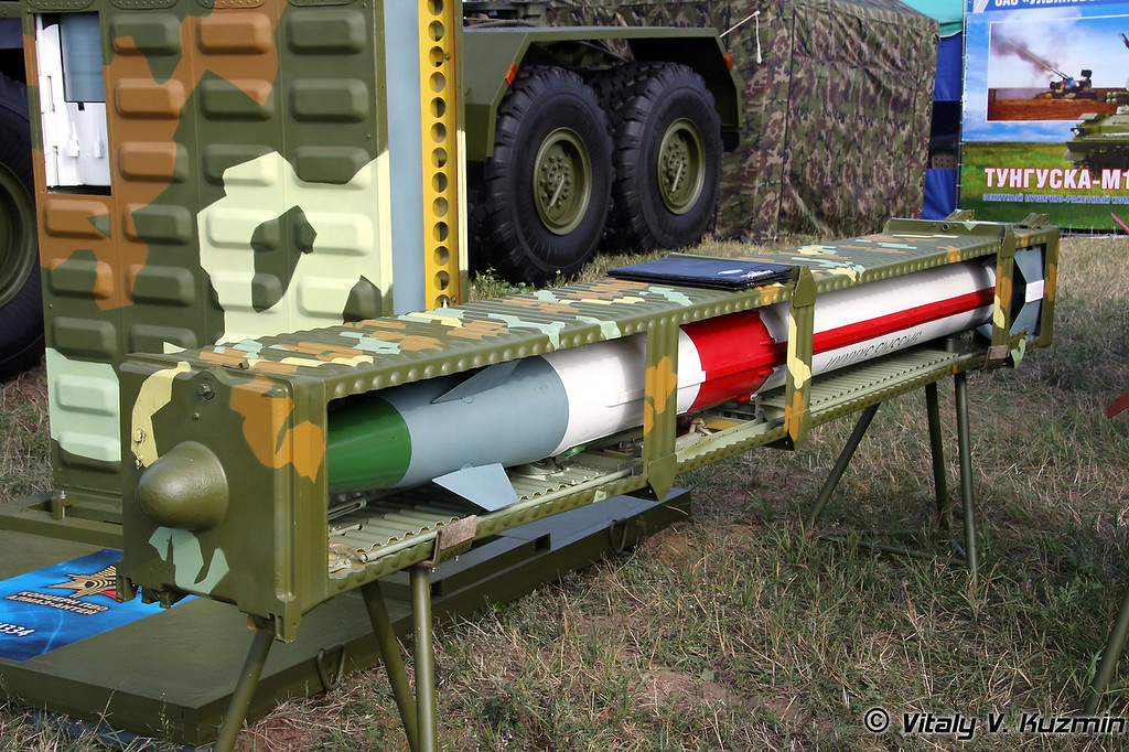 Ракета 9М33М3 для ЗРК Оса-АКМ (9M33M3 air defence missile for Osa-AKM system)
