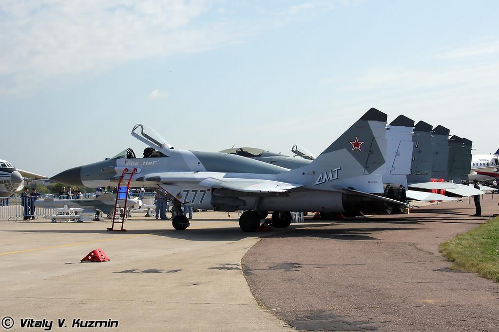 Еще один МиГ-29СМТ - известный борт 777 (One more MiG-29SMT - famous 777 board)