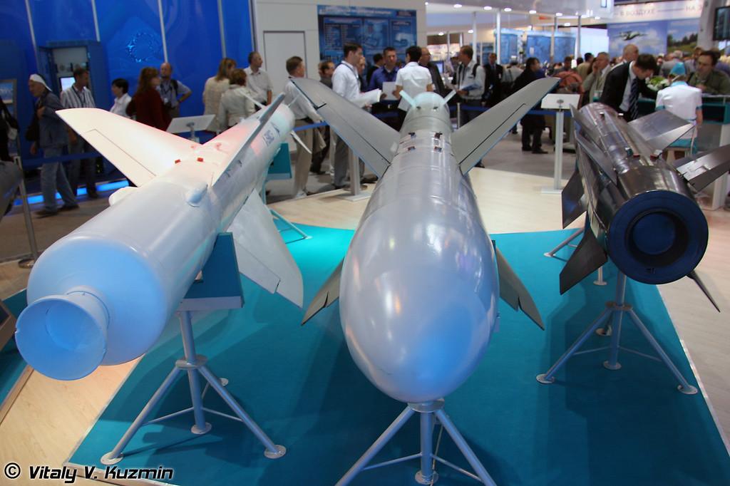 Х-59М2Э, Х-59МК2 и Х-58УШКЭ (X-59M2E, X-59MK2 and X-58UShKE missiles)