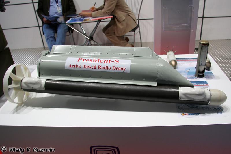 Активная буксируемая радиолокационная ловушка Президент-С (Active towed radio decoy President-S)