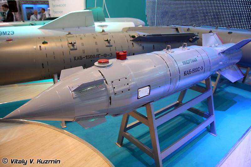 Корректируемая авиационная бомба с аппаратурой спутникового наведения и фугасной боевой частью КАБ-500С-Э (Guided bomb KAB-500S-E)