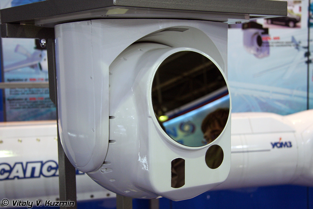 Система оптического наблюдения модульного исполнения СОН-МR (SON-МR optical surveillance system)