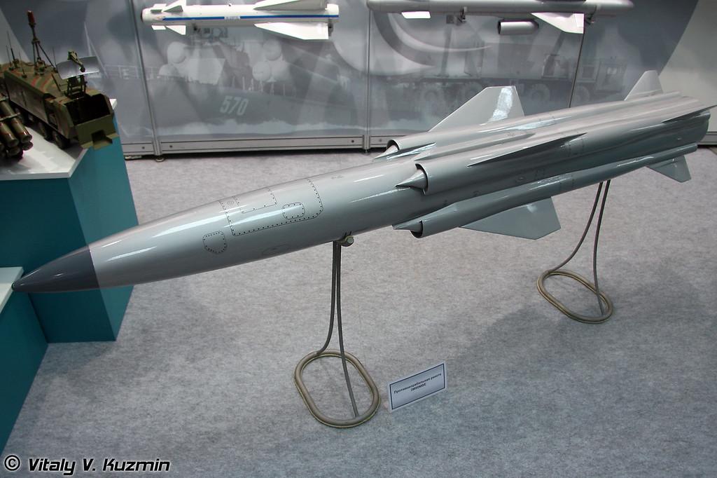 Противокорабельная ракета 3М-80МВЕ (3M-80MVE anti-ship missile)