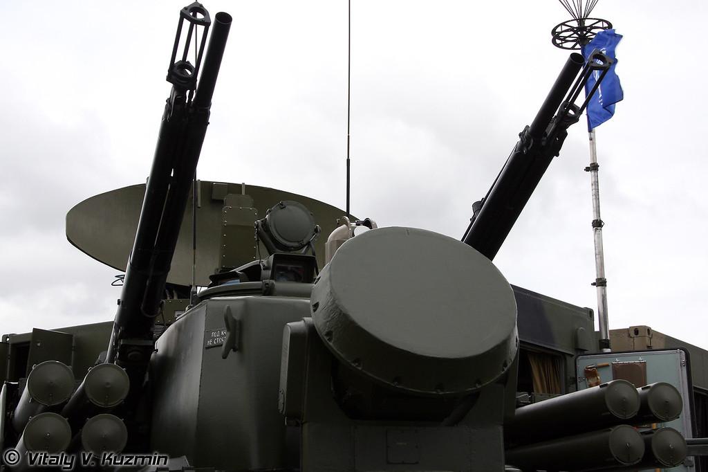 2С6М1 Тунгуска-М1 (2S6M1 Tunguska-M1)