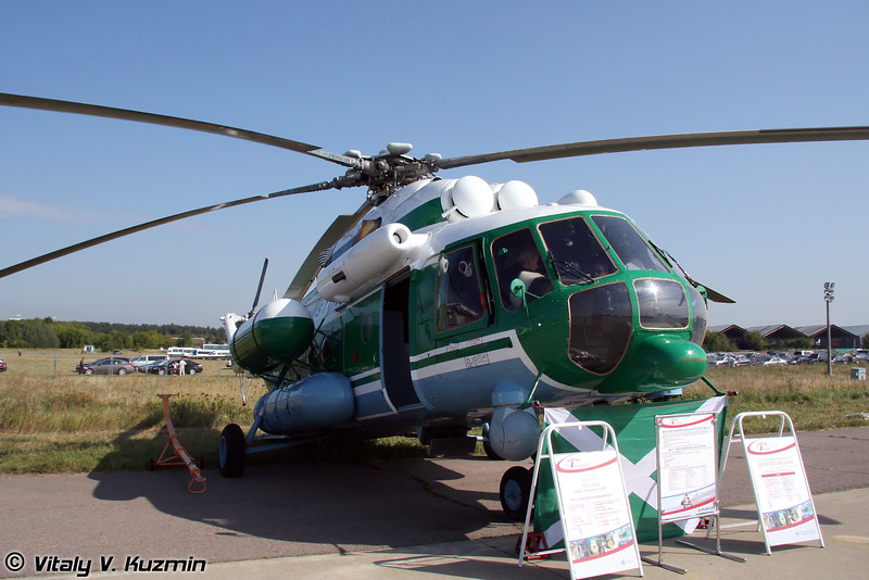 Ми-8АМТ (Customs service Mi-8AMT)