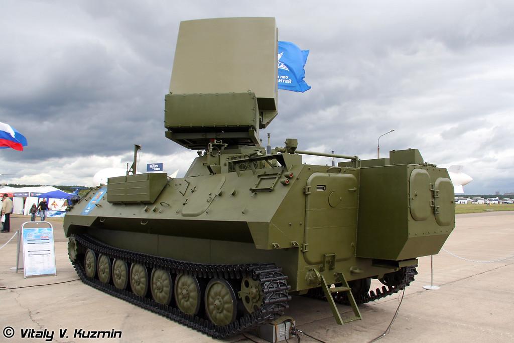 Мобильная РЛС 1Л122-2Е (Mobile radar 1L122-2E)