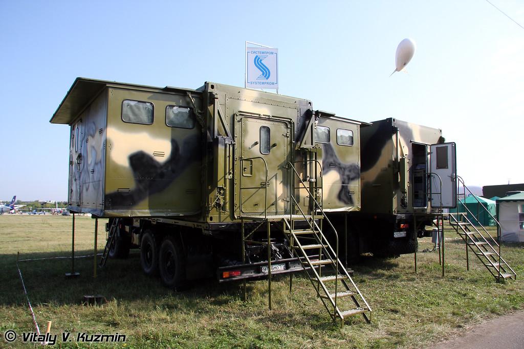 Комплекс средств автоматизации командного пункта района ПВО Бастион-ЗЭ (Air defence command post Bastion-ZE)