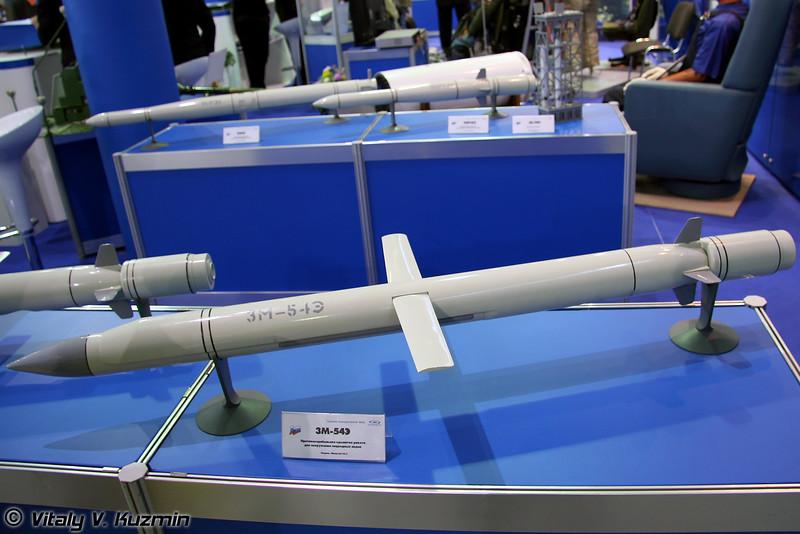 Противокорабельная ракета для вооружения подводных лодок 3М-54Э (Antiship submarine launched missile 3M-54E)