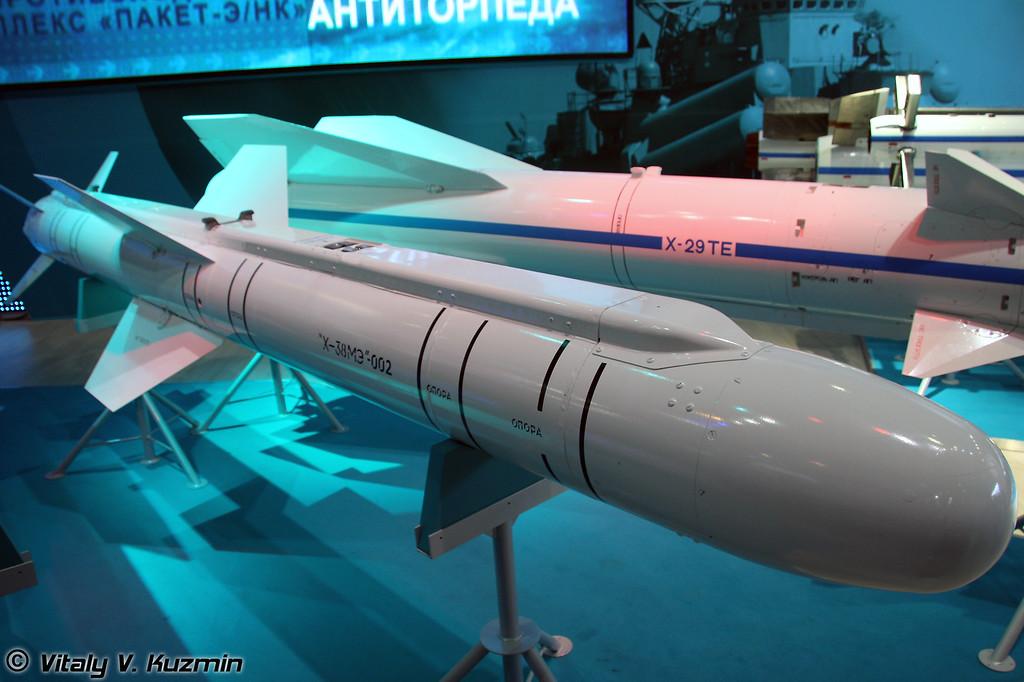 Авиационная модульная управляемая ракета воздух-поверхность малой дальности Х-38МЭ (Air-to-surface modular short-range missile Kh-38ME)