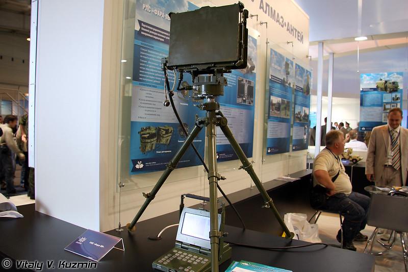 Портативная РЛС ближней разведки с панорамным индикатором Фара-ПВ (Portable short-range reconnaissance radar with panoramic display Fara-PV)