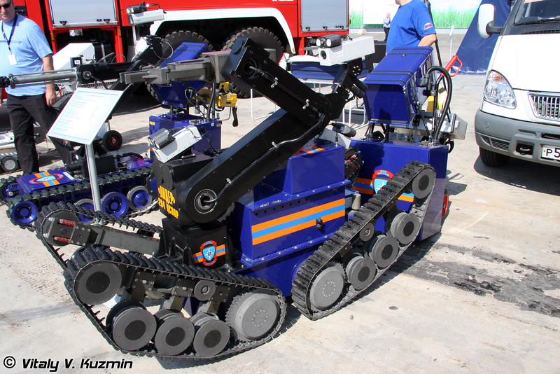 Робототехнический комплекс MF-3