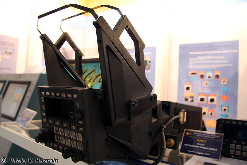 Индикатор коллиматорный широкоформатный ИКШ-1К (Head-up display IKSh-1K)