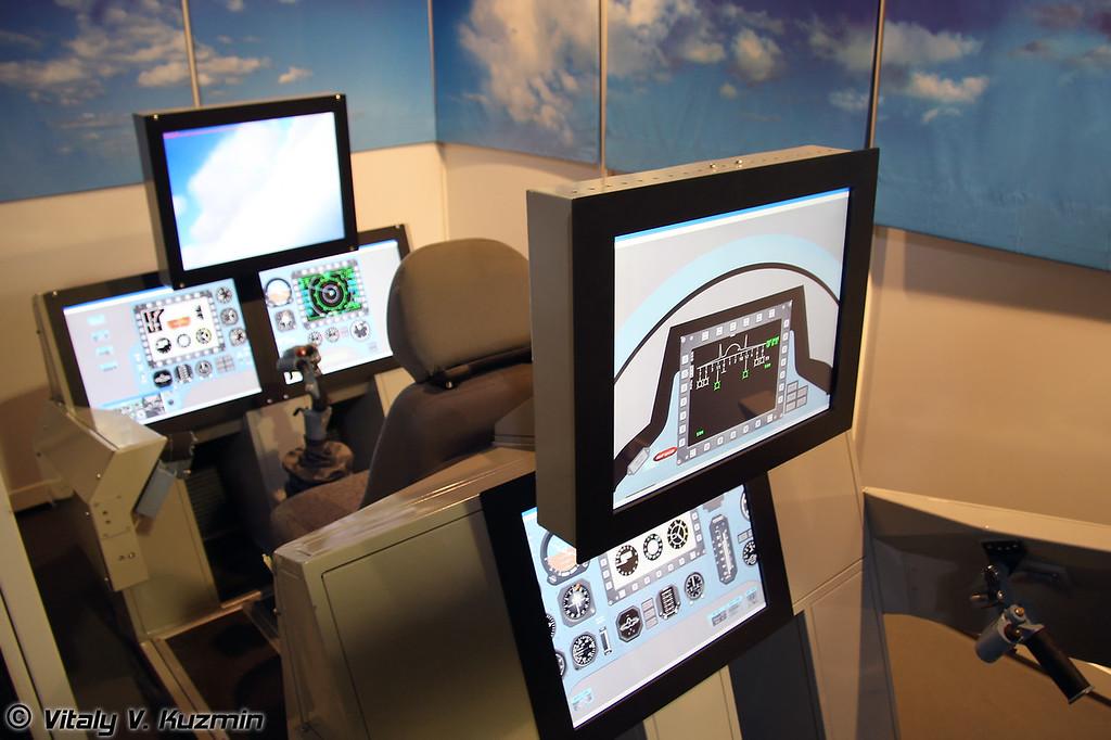 Тренажер отработки боевого применения Су-30 (Su-30 combat simulator)
