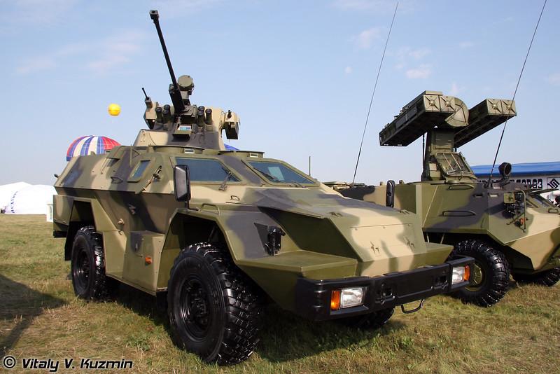 КАМАЗ-43269 Выстрел с БППУ МБ2 (KAMAZ-43269 Vystrel with MB2 turret)