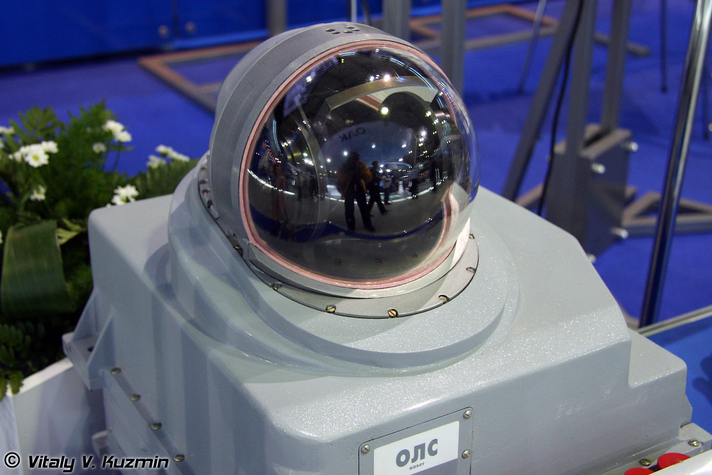 Оптико-локационная станция ОЛС самолета Су-35 (Optic-electronic station OLS for Su-35)