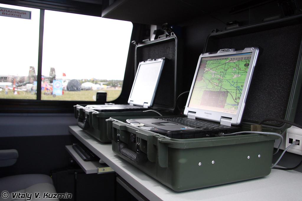 Машина управления для комплекса Типчак на базе Volkswagen Crafter (Command vehicle for Tipchak on Volkswagen Crafter base)
