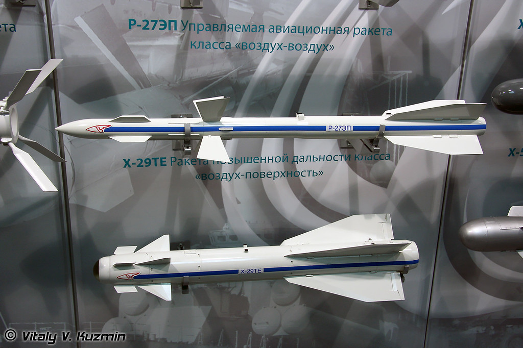 Р-27ЭП и Х-29ТЕ (R-27EP and Kh-29TE)