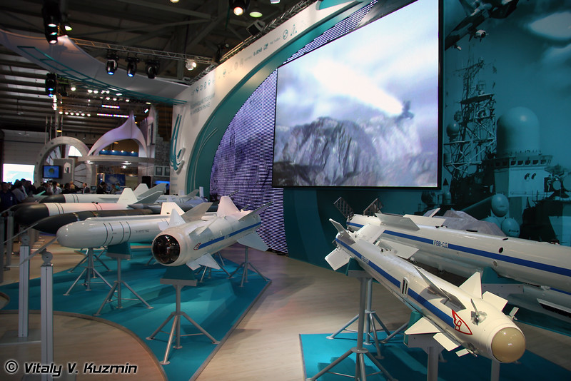 """Стенд ОАО """"Корпорация """"Тактическое ракетное вооружение"""" (Tactical Missiles Corporation section)"""