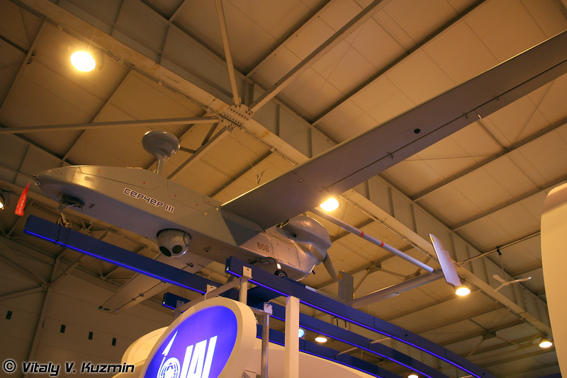 Тактический разведывательный БПЛА IAI Searcher III (IAI Searcher III UAV)