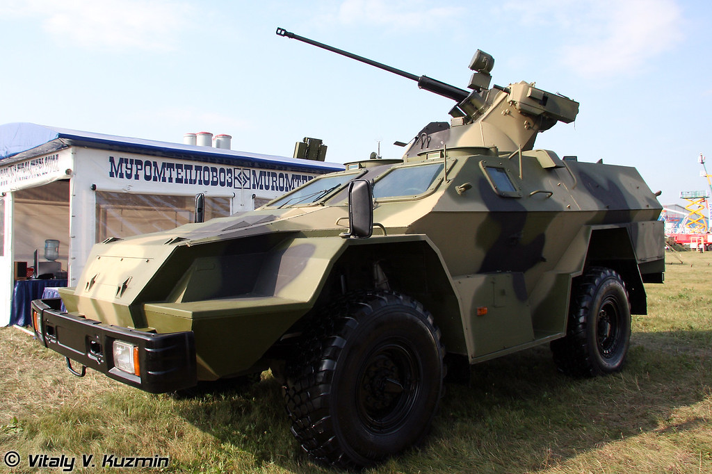 КАМАЗ-43269 Выстрел с БППУ МБ2 (KAMAZ-43269 Vystrel with MB2 turret)