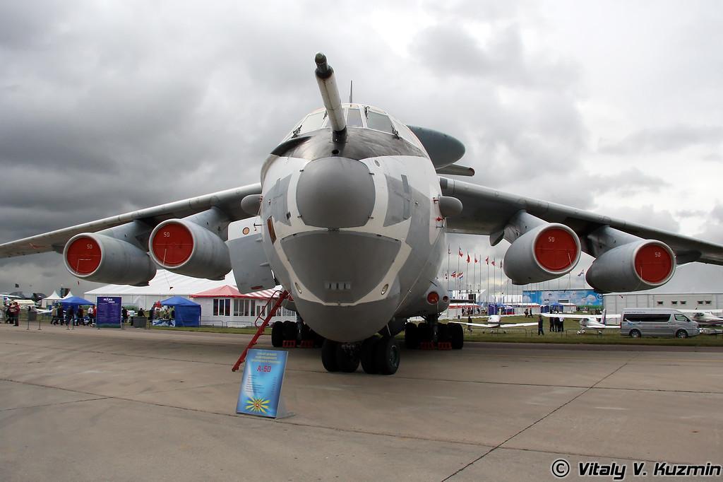 Самолет ДРЛО А-50 (A-50)