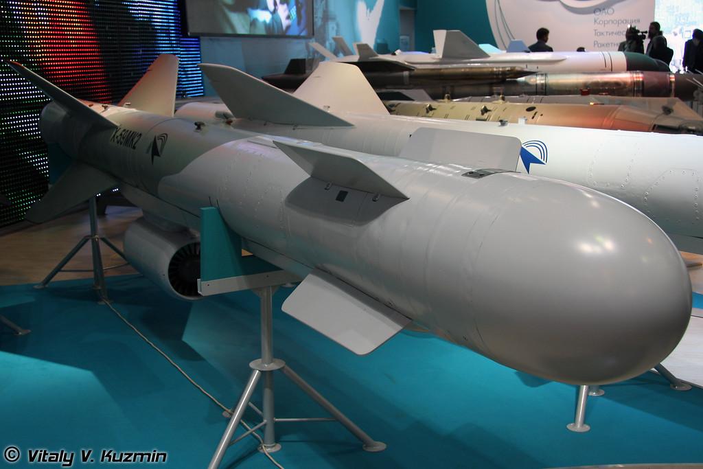 Авиационная управляемая ракета воздух-поверхность Х-59МК2 (X-59MK2 guided air-to-surface missile)