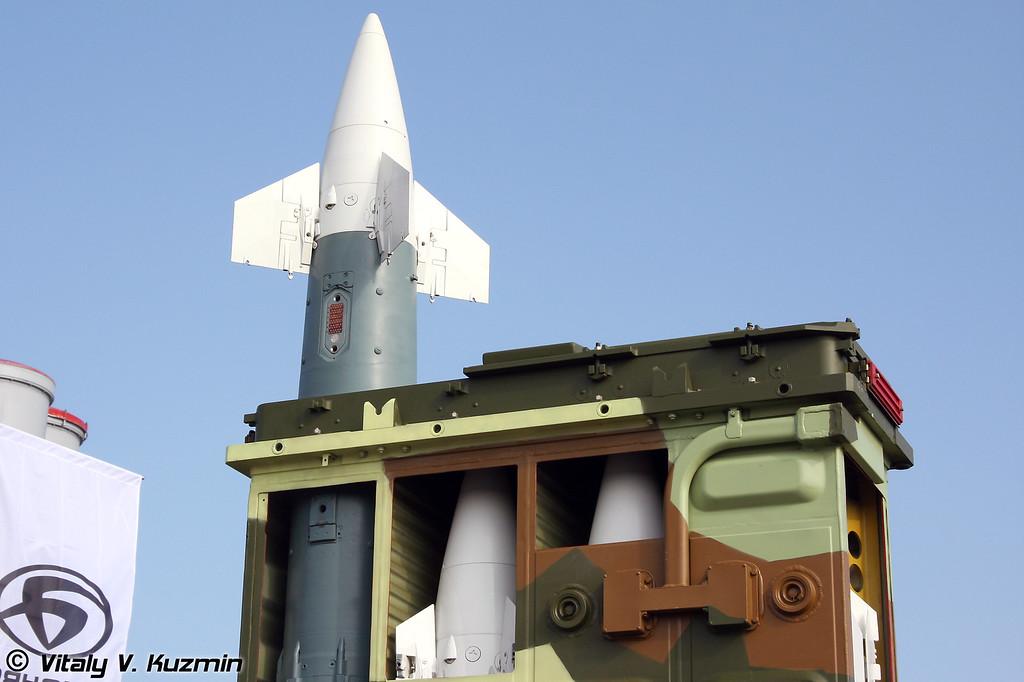 Зенитно-ракетный модуль 9М334 для ЗРК Тор (Air defence modul 9M334 for Tor system)