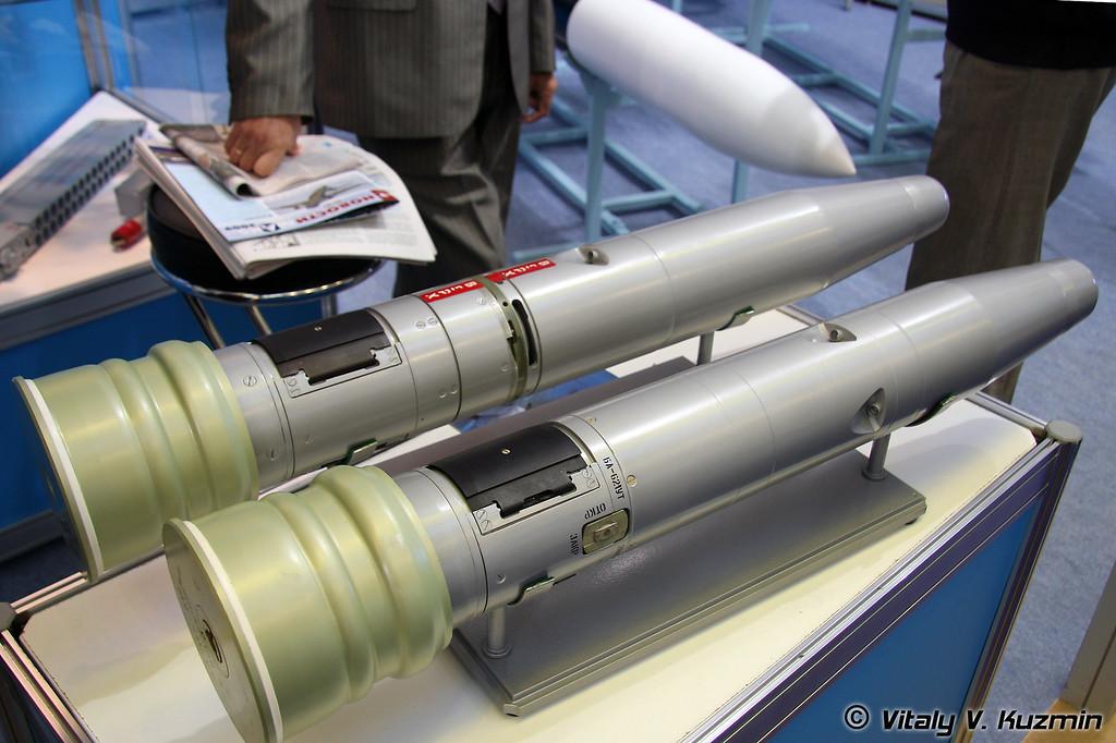 120-мм и 125-мм противотанковые управляемые снаряды (120-mm and 125-mm ATGMs)