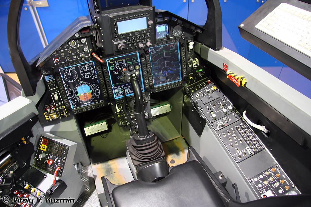 Тренажер МиГ-29К (MiG-29 training simulator)