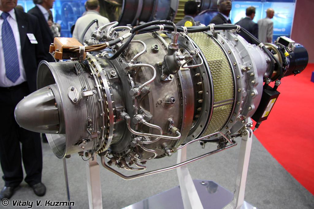 МС-500 турбовальный двигатель для Ми-54 и других перспективных вертолетов (MS-500 turboshaft engine for Mi-54)