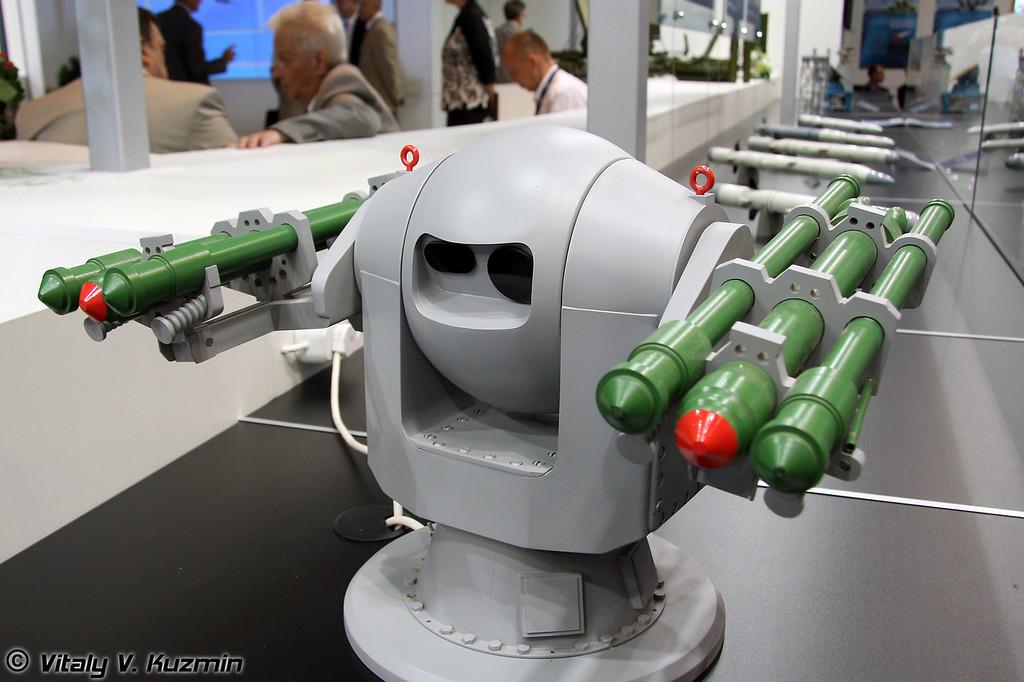 Турельная установка 3М-47 Гибка (3M-47 Ghibka turret mount)
