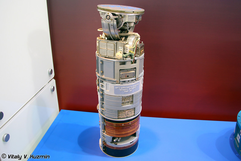 Многофункциональная активная радиолокационная головка самонаведения для ракеты РВВ-АЕ (Multifunctional active radar seeker for RVV-AE AAM)