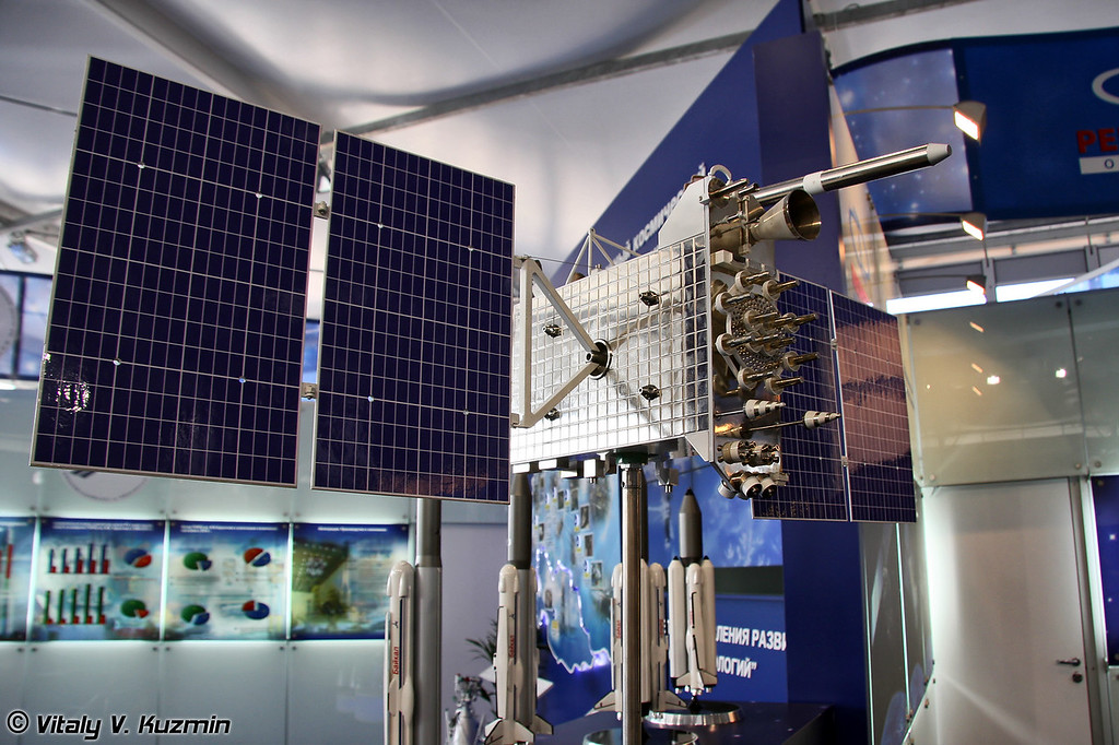 Навигационный спутник ГЛОНАСС-К (Navigation satellite GLONASS-K)