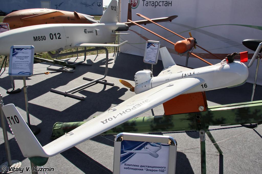 Комплекс дистанционного наблюдения Элерон-10Д (Eleron-10D UAV)