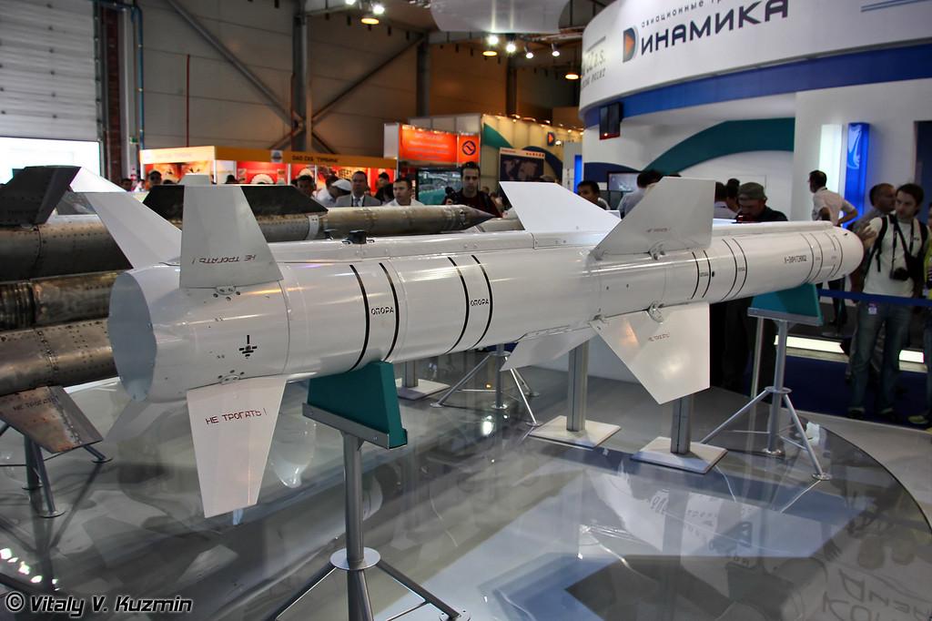Авиационная модульная управляемая ракета малой дальности Х-38МЛЭ (Guided modular short-range missile Kh-38MLE)