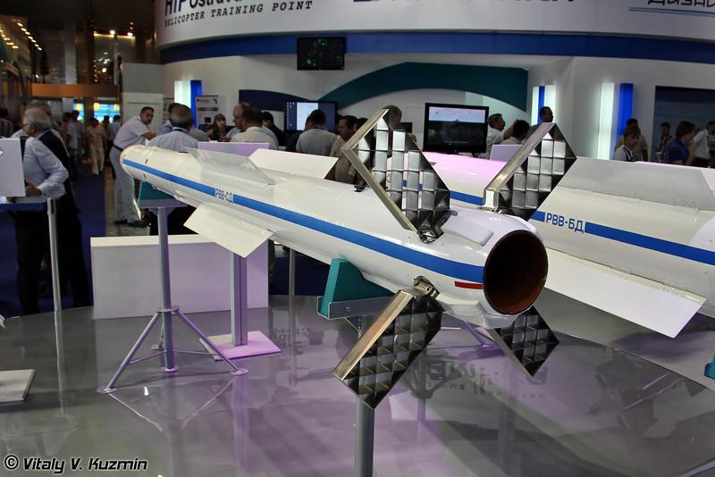 Авиационная управляемая ракета средней дальности РВВ-СД (Medium-range air-to-air guided missile RVV-SD)