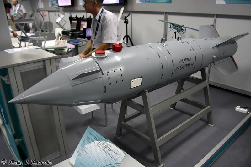 Корректируемая авиационная бомба КАБ-500С-Э (KAB-500S-E guided bomb)