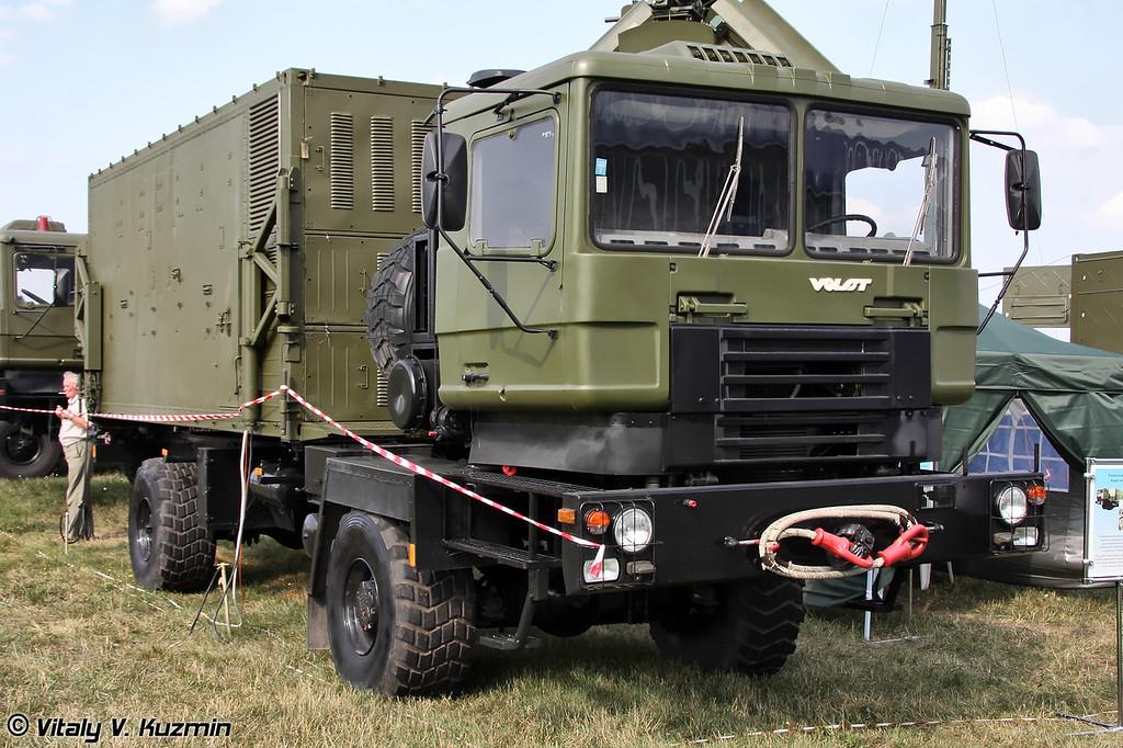 Ремонтный модуль из состава ЗРК Печора-2М (Repair module from Pechora-2M missile system)