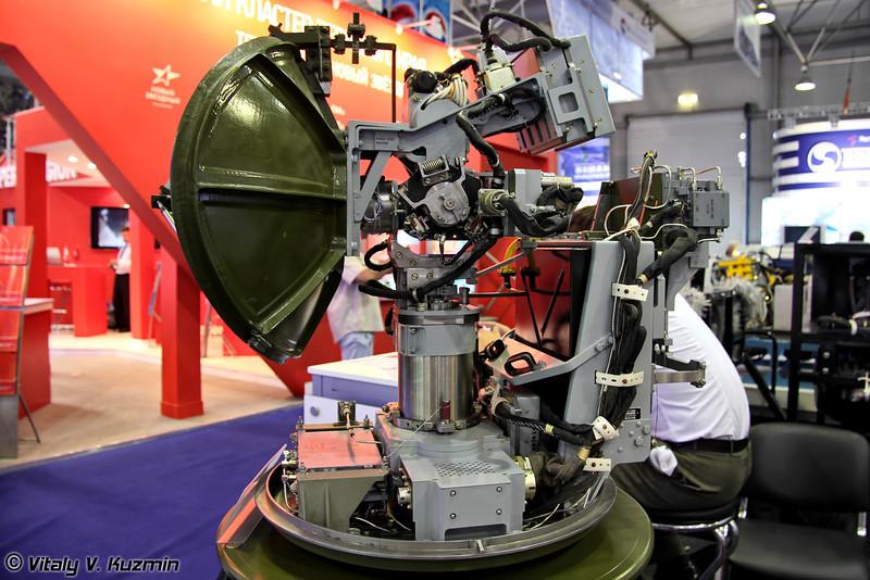 Надвтулочная БРЛС Н-025-НЭ (N-025-NE radar)