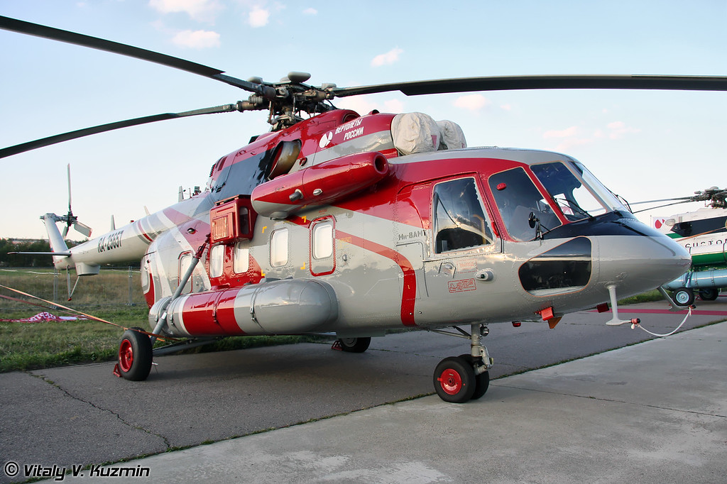 Ми-8АМТ в VIP варианте (Mi-8AMT in VIP version)