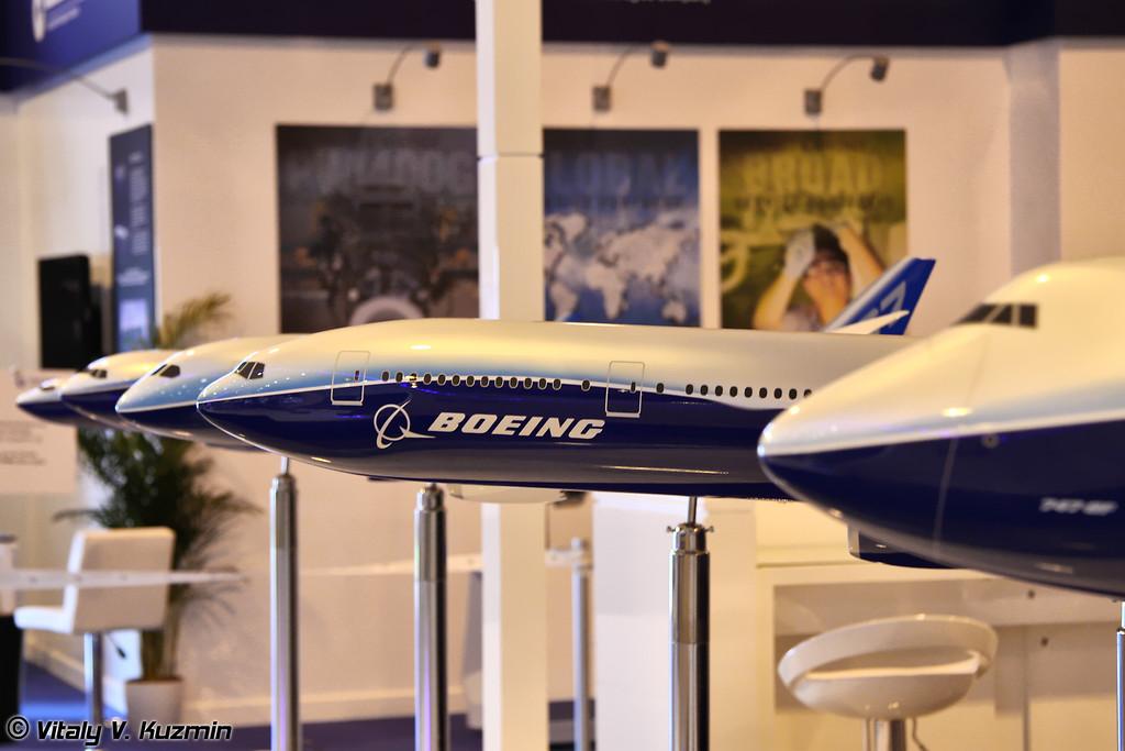 Стенд Boeing
