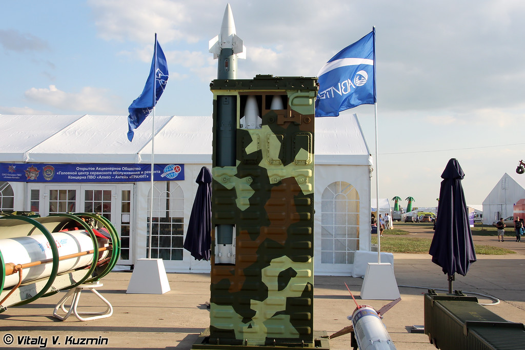 Зенитный ракетный модуль 9М334 для ЗРК Тор-М1 (9M334 SAM module for Tor-M1)