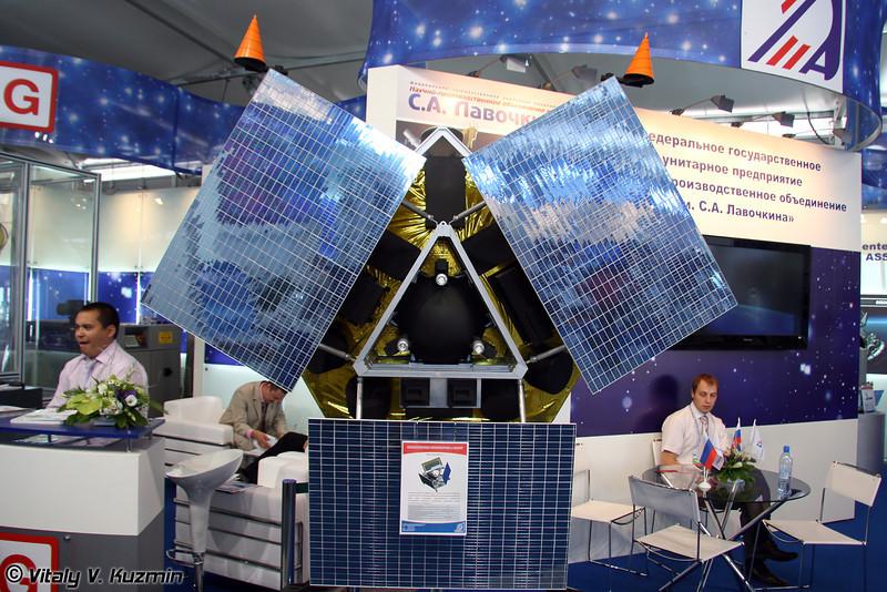 Космическая платформа Карат, масштаб 1:1 (Space platform Karat, scale 1:1)