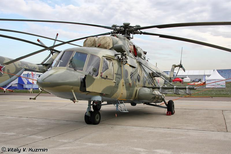 Транспортно-штурмовой вертолёт Ми-8АМТШ (Transport-assault helicopter Mi-8AMTSh)