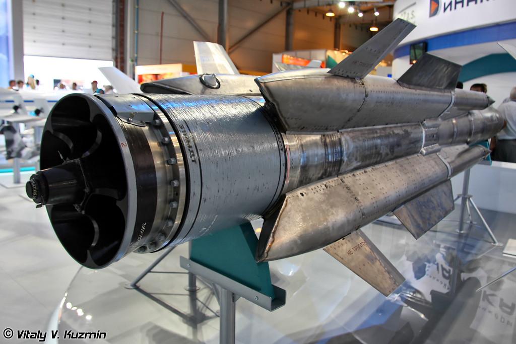 Авиационная противокорабельная ракета Х-31АД (Kh-31AD high-speed air-launched antiship missile)