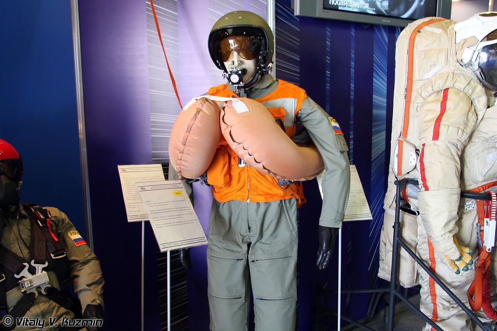 Комплект спасательного снаряжения для пилотов вертолетов морской авиации (Naval helicopters pilots rescue equipment)