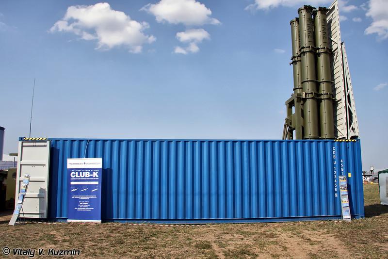 Контейнерный комплекс ракетного оружия Club-K (Container missile system Club-K)