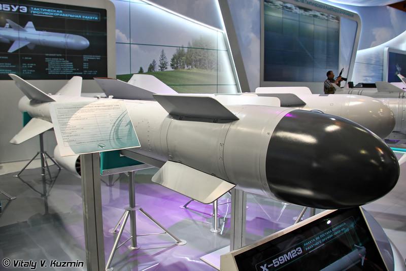 "Управляемая ракета Х-59МК повышенной дальности класса ""воздух-поверхность"" (Kh-59MK guided air-to-surface missile)"