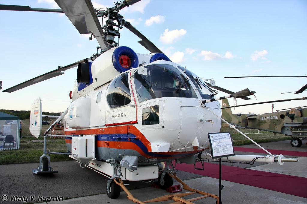 Противопожарный вертолет Ка-32А (Fire fighting helicopter Ka-32A)